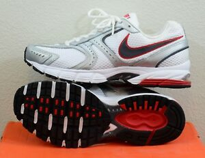 NEW Nike Air Skyraider 2 Size 8 White Silver Red Mens Running Shoes ... ffdbf2d97effa