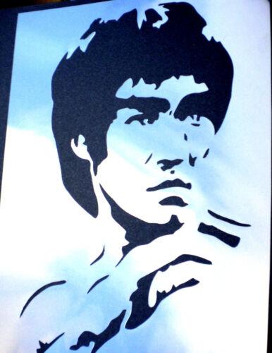 high detail airbrush stencil lee nine FREE UK  POST