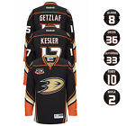 2013 Anahem Ducks NHL Reebok Home Black 20th Anniversary Premier Jersey Men's