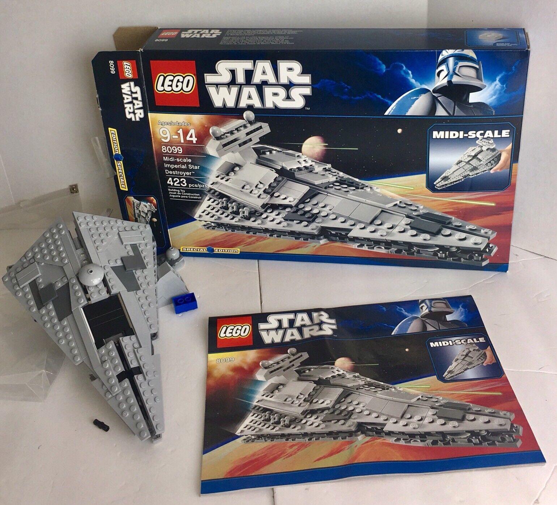 Lego Star Star Star Wars 8099 Midi Scale Imperial Star Destroyer Special Edition in Box 5ba3ba