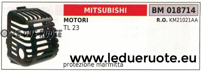 KM21021AA UNTERSTAND SCHUTZ SCHALLDÄMPFER MOTOR MITSUBISHI TL 23