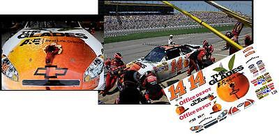 CD/_1164  #14 Tony Stewart  /'The Glades/'  2011 Chevy  1:24 scale DECALS