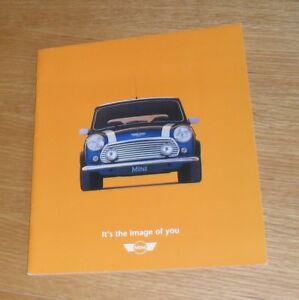 Mini Range Brochure 1999 13i Cooper 13 Std Austin Rover