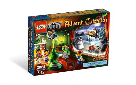 BRAND NEW LEGO Town City 2010 Advent Calendar 2824 2824 2824 faabd6