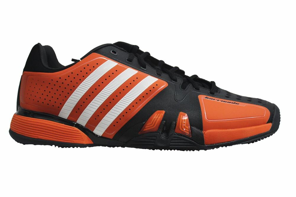 Adidas-Adipower Barricade Baskets Homme Rouge (V22631)-