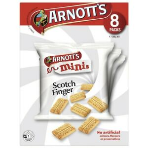 Arnott's Scotch Finger Minis Biscuits 8 pack 200g