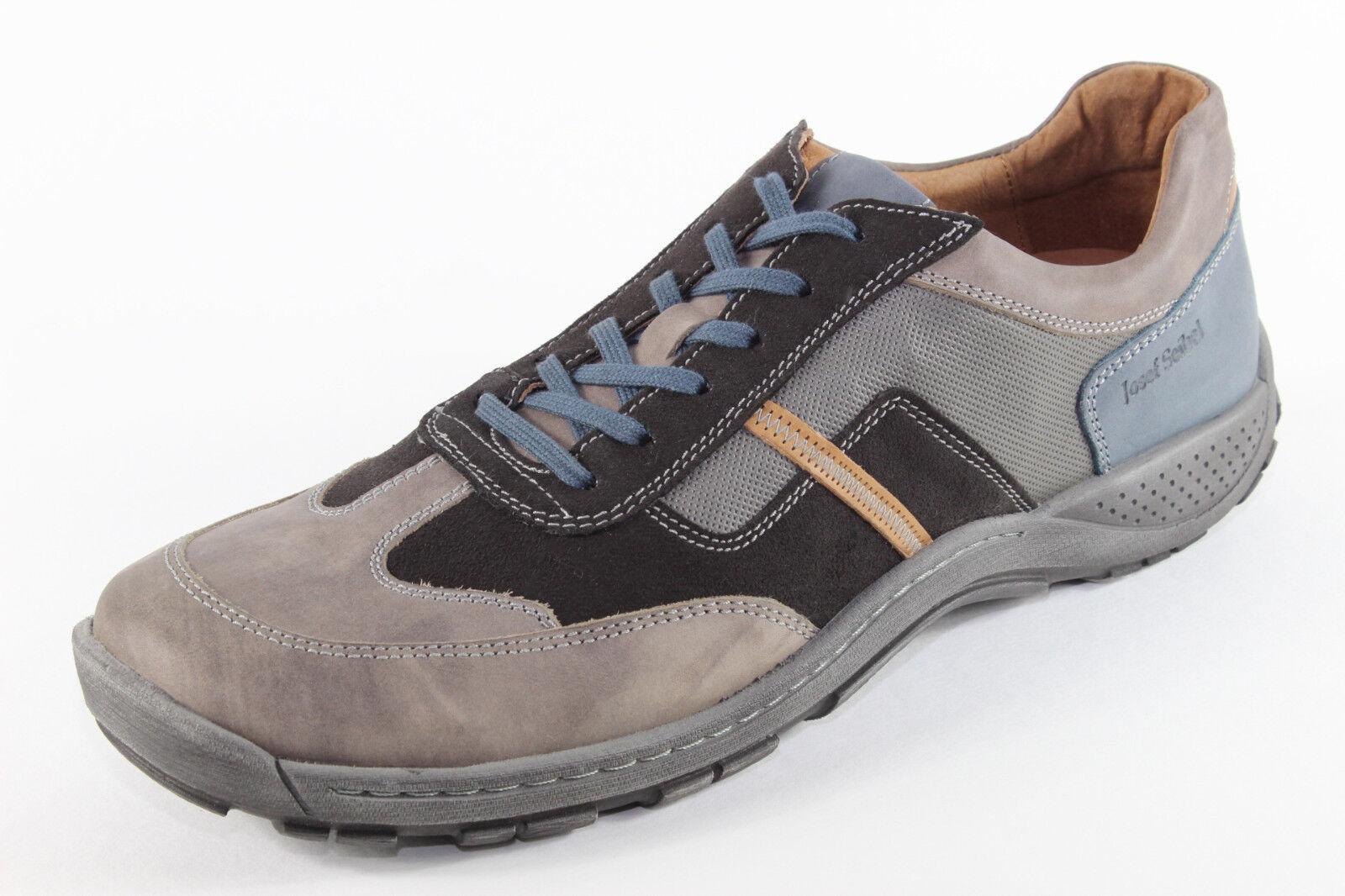 Josef Seibel Nolan 28, Sneaker in schöner Lederkombi, Herrenschuhe *Übergröße*