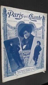 Revista Semanal Dibujada París Que Canta N º 163 Mars 1906 ABE