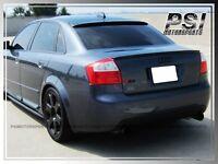 Abt Look Carbon Fiber Trunk Lip Spoiler Fit 2001-2005 Audi A4 B6 Quattro S4