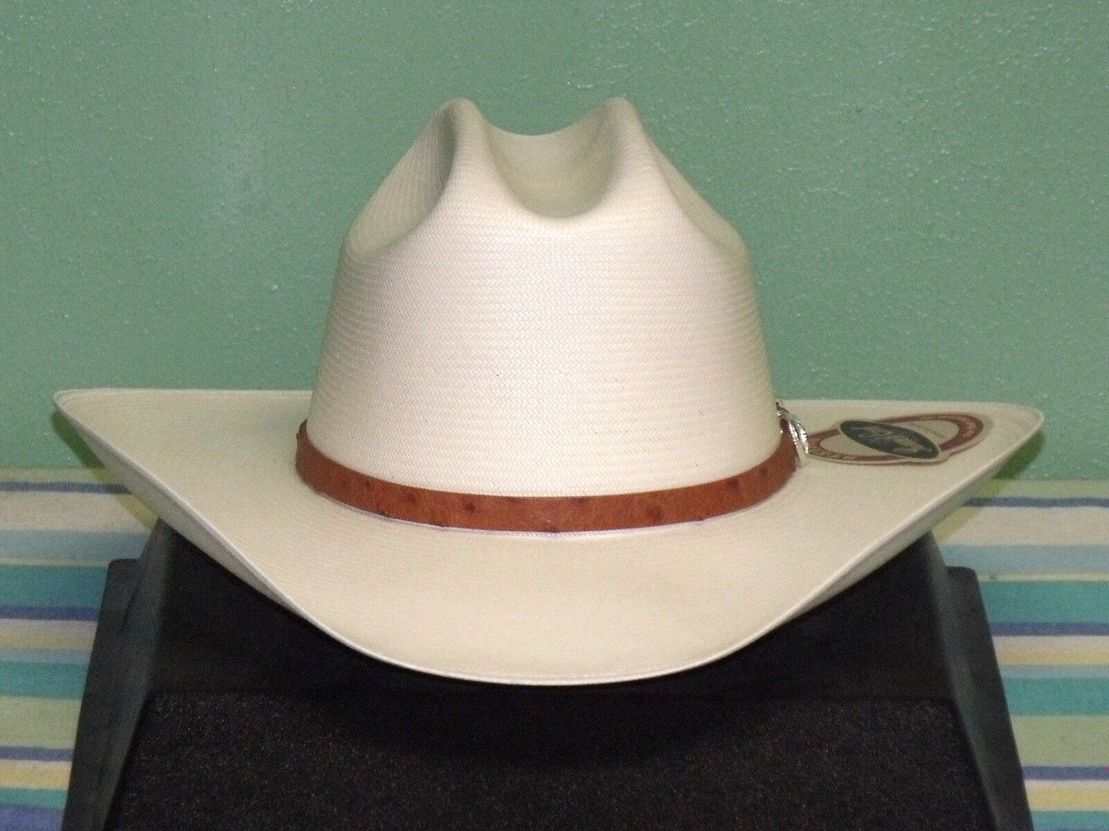 f8f9947d9b58b Stetson El Noble 500x Straw Cowboy Hat - SSELNBM2840 7 1 8 for sale ...