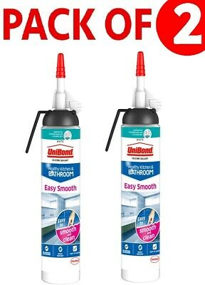 UNIBOND Anti Mould Sanitary Silicone Sealant Kitchen ...