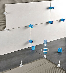 Proleveling Tile Leveling System DIY-100T T Spacers kit 1mm, 2mm or ...
