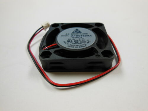 40mm x 40mm x 10mm 12VDC Fan//Blower//Chipset 2pins New Delta AFB0412MA//09360415