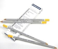Staedtler Omnichrom Lumocolor Non-Permanent Pinstriping Pencil Dozen Yellow
