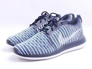 Details about Nike W Roshe Two Flyknit # 844929 401 College Navy Women SZ 6 10