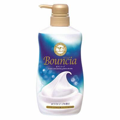 Cow Brand Bouncia Premium Floral Body Wash 550ml Pump Bottle