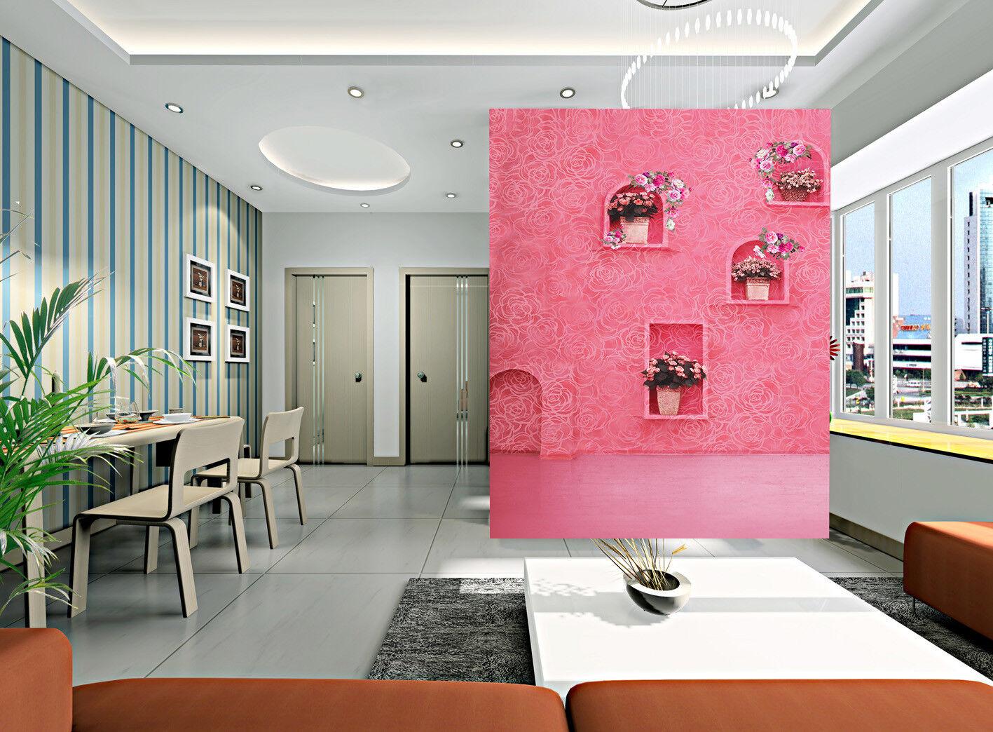 3D pink pink Hintergrund 856 Tapete Wandgemälde Tapete Tapeten Bild Familie DE