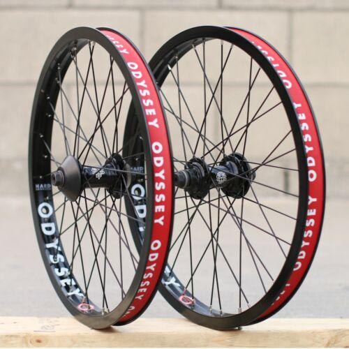 ODYSSEY BMX BIKE VANDERO FRONT OR ANTIGRAM v2 CASSETTE BICYCLE WHEEL BLACK