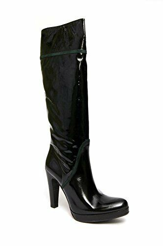 Scarpe casual da uomo  Albano 173 Italian wouomo knee -high patent leather boots