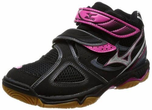 Volley Artemis V1gc1558 Mizuno Femmes argent ball 3mid Noir Chaussures Wave 7A5XnXqx