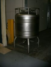 800 Liter 200 Gallon Stainless Steel Tank Fermenter Cone Bottom Rated 149 Psi