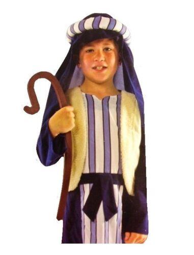 Joseph Shepherd /& Crook Nativity Play Fancy Dress Outfit Child's  Costume 5-7Y