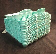 5x New Blank Styrofoam Flat Top White Egg Cartons For Chicken Eggs Holds 1 Dozen