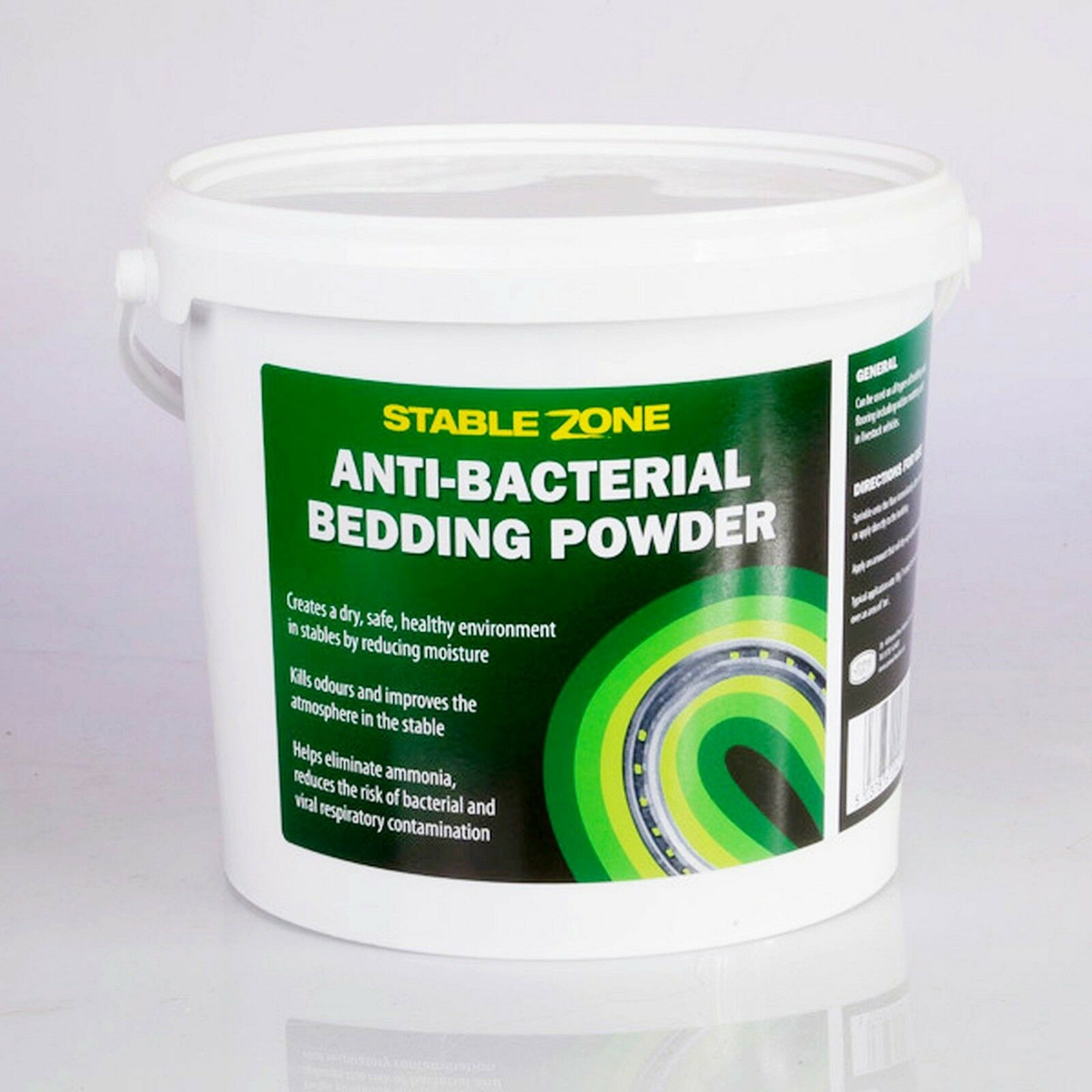 Stable Zone Horse Antibacterial Bedding Powder for Cleaner Air Next Day Delivery