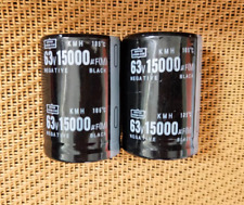 2,KMH 63V 15000UF Electrolytic Capacitor 35X50mm