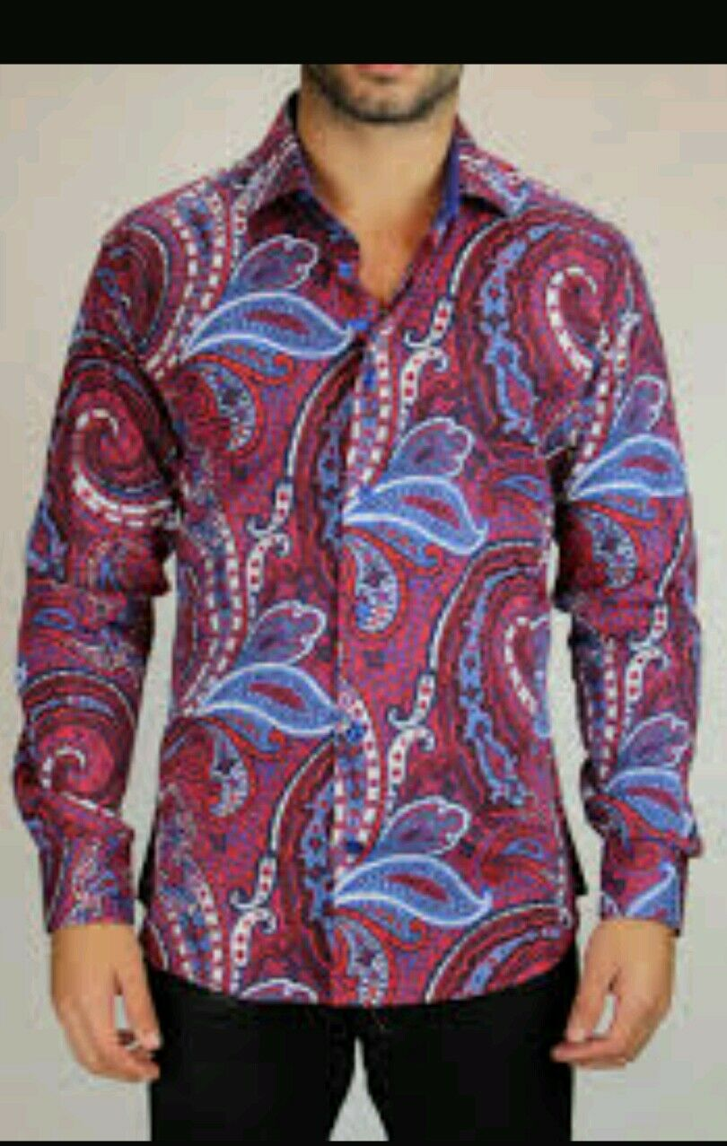 c396fcb7 Bertigo 29 size 5 or XL Mario shirt nwzwja1275-Casual Shirts & Tops ...