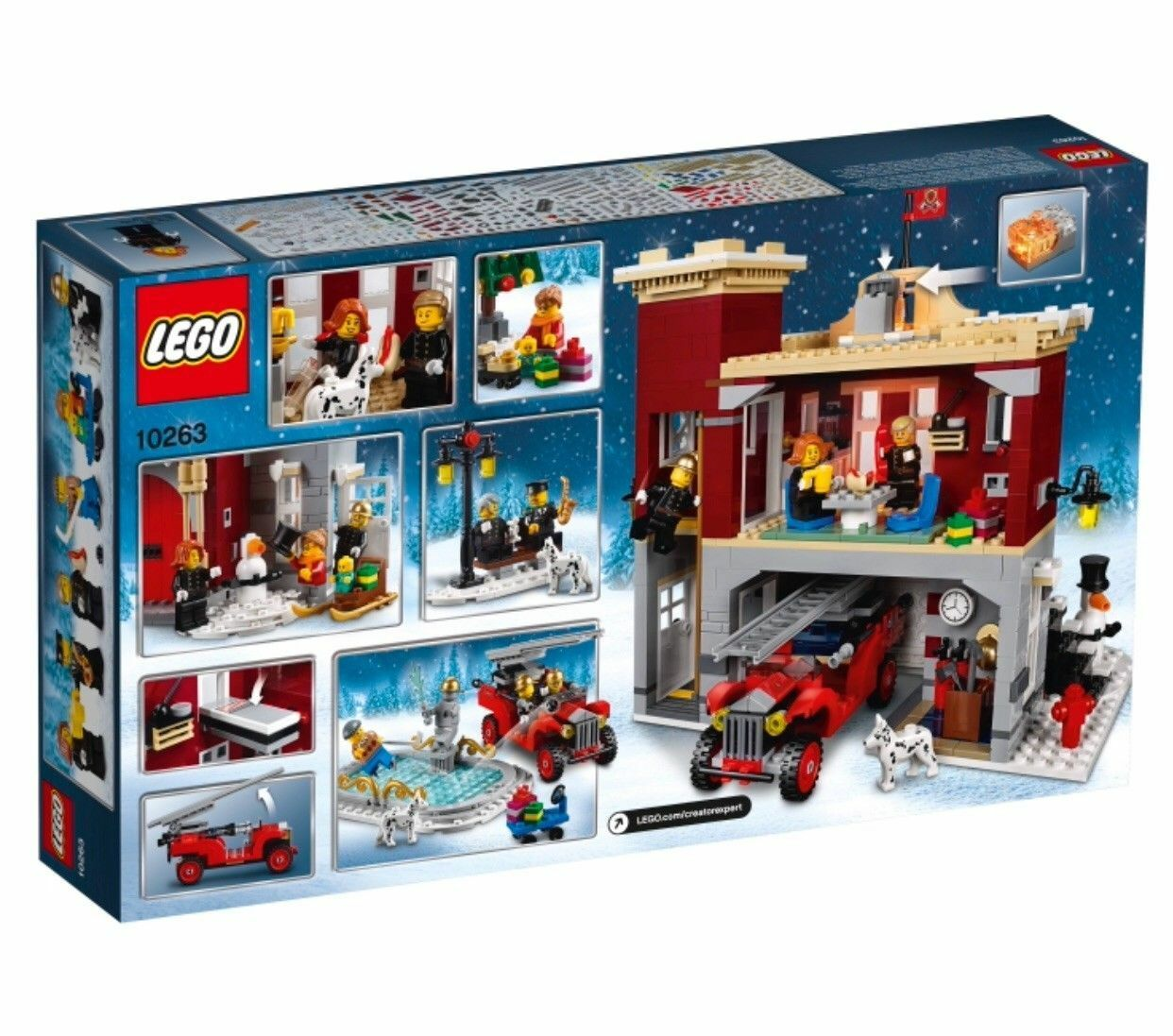 Lego 10263 Creator Expert Winter Village Fire Station NEW NEW NEW 5f5d88