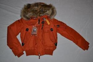 AUTHENTIC-PARAJUMPERS-GOBI-WOMEN-JACKET-RUST-SIZE-S-SMALL-BRAND-NEW