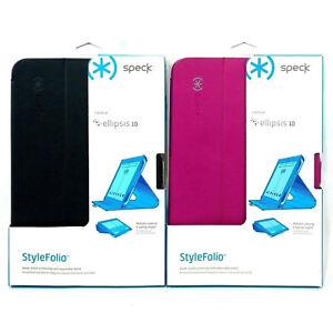 finest selection 57595 d0248 Details about Speck StyleFolio Authentic Folio Protection Case For Verizon  Ellipsis 10