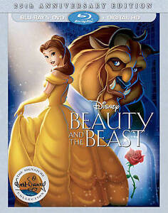Beauty-and-the-Beast-Blu-ray-DVD-2016-2-Disc-Set-25th-Anniversary-Edition