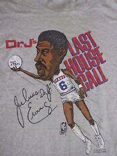 Vtg 80's Dr J /Julius Erving T Shirt NBA 76ers Caricature Size Sm Screen Stars