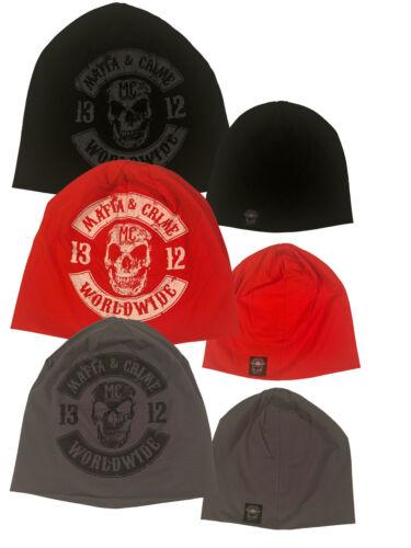 Mafia /& Crime MC Beanie Patch