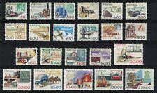 Portugal Definitives 22v COMPLETE MNH SG#1684-1703a