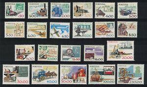 Portugal-Definitives-22v-COMPLETE-MNH-SG-1684-1703a