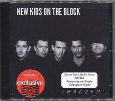 +1 BONUS TRACK--> NEW KIDS ON THE BLOCK Thankful EXCLUSIVE CD One More Night DMX