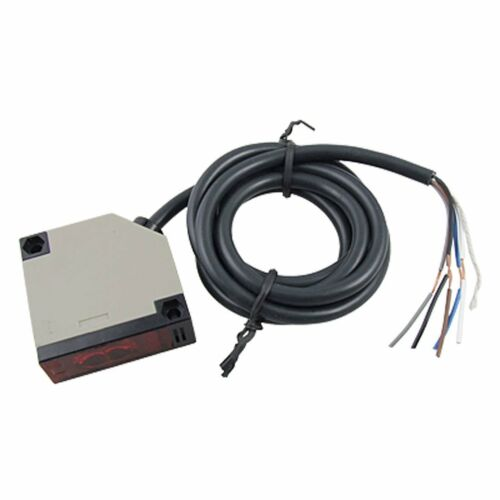 E3JK-R4M12 Retroreflective Photoelectric Switch Sensor w Reflector A4D7