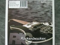 Genuine Rickenbacker Bass Strings One Pack 4 String Set 4001 4003 Ric 45-105