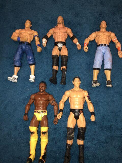 Triple H Wright JTG Mattel WWE Wrestling Figure Lot Sheamus Fandango Cesaro