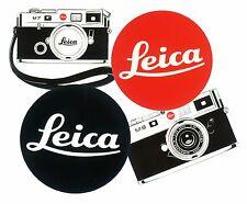 set 4 Leica red black dot M7 M8 7cm decal vinyl sticker sofort film camera