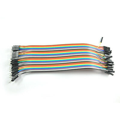 40P Dupont Wire Jumper Cable Female to Male 20cm 2.54mm 1P-1P for Arduino