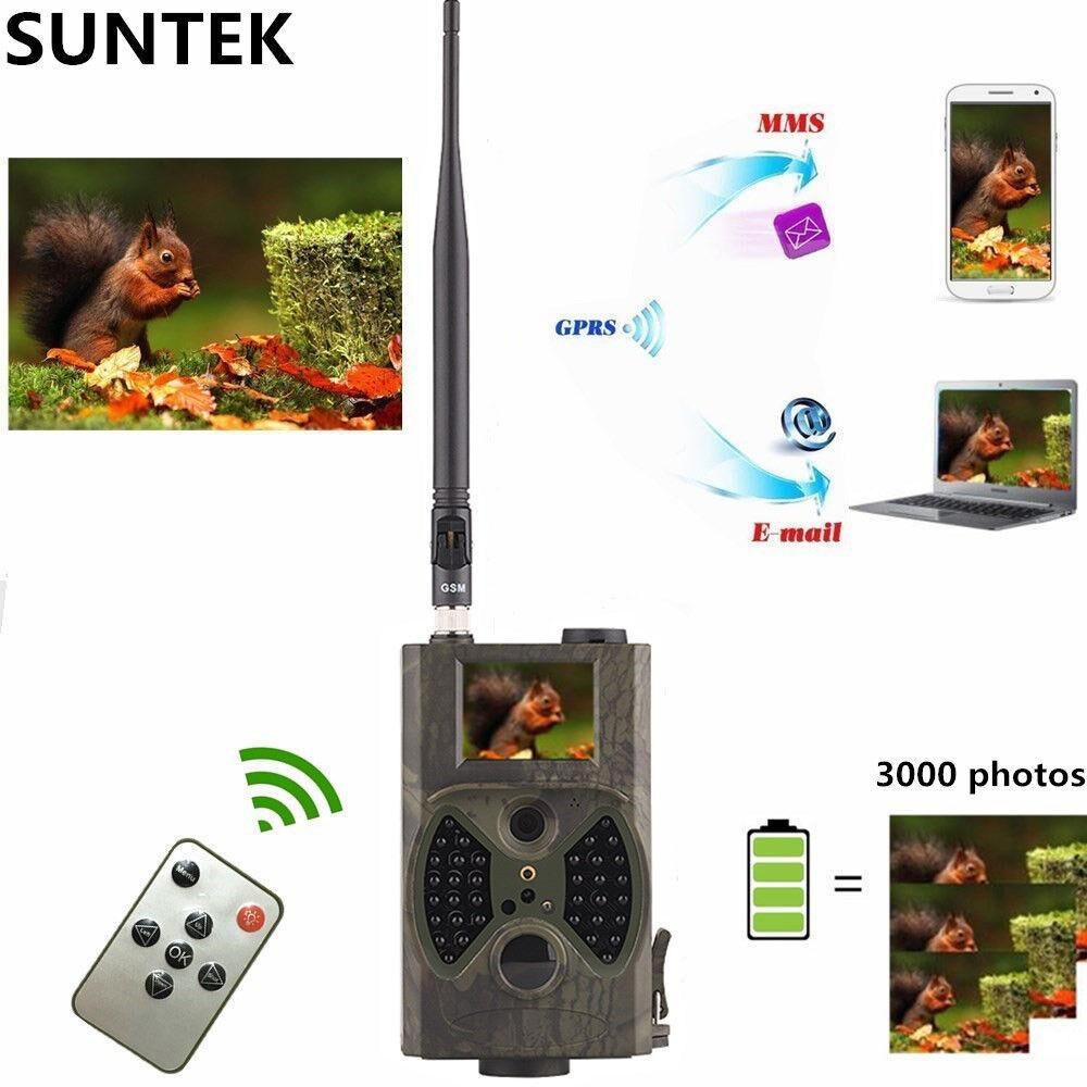 Cámara digital pista de infrarrojos noche HC300M H de caza de animales 940NM Mms Gprs Gsm