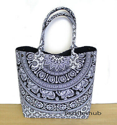 Women/'s Mandala Shoulder Handbags Handmade Hobo Shopping Beach Hippie Bag UK