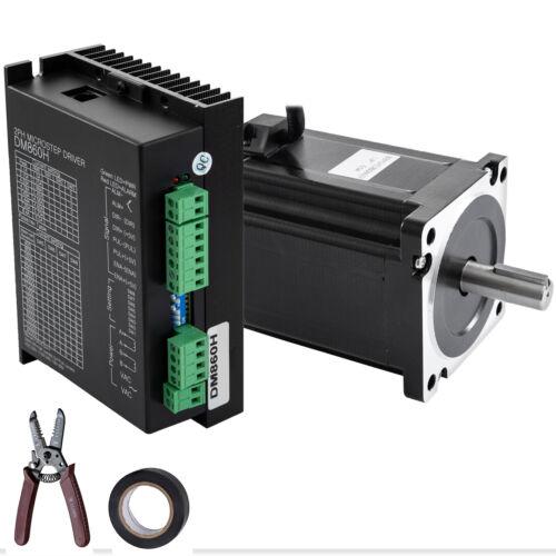Stepper Motor NEMA34+Hybrid Servo Drive DM860H Kit 8.5Nm CNC