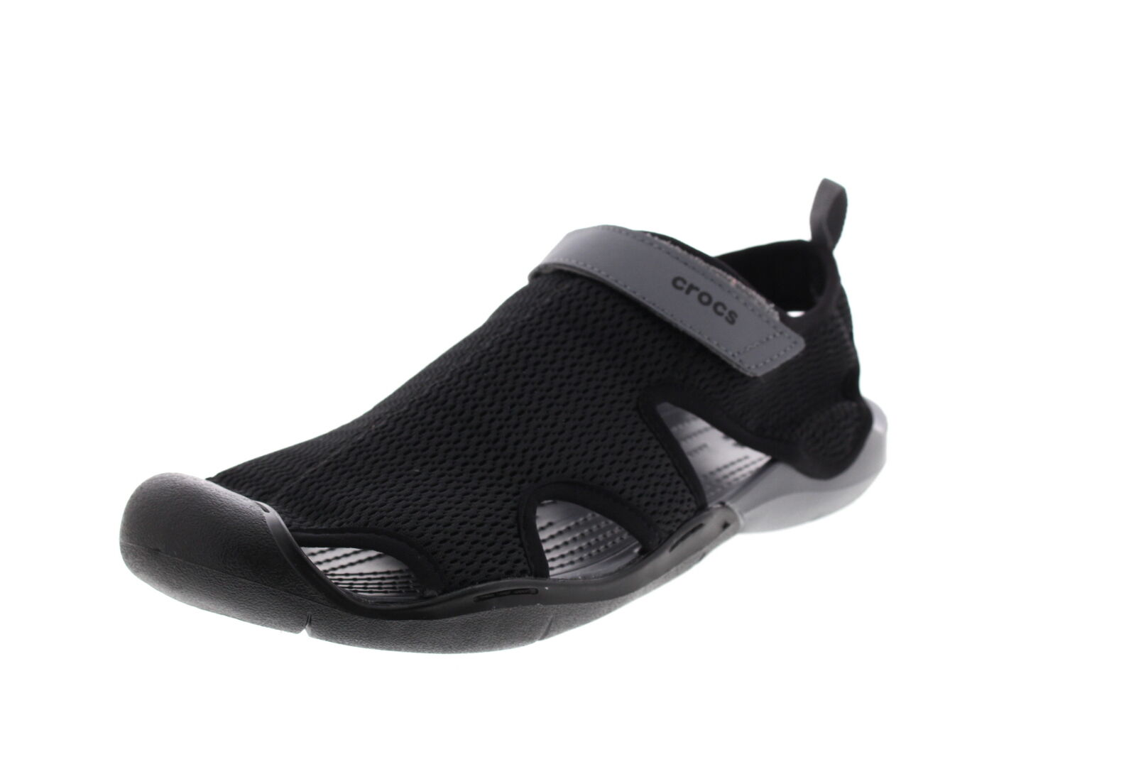 Crocs chaussures Femme Swiftwater Maille Sandales noir Anthracite