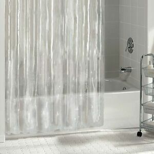 Image Is Loading BRAND NEW SOLID CLEAR WATER REPELLANT BATHROOM SHOWER