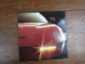 PROSPEKT-BROCHURE-AUTO-CATALOG-SALES-CATALOGUE-CHEVROLET-New-CORVETTE-1980-039-s